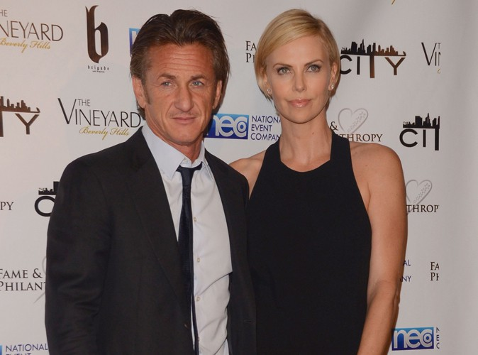 Sean Penn et Charlize Theron à Los Angeles le 2 mars 2014