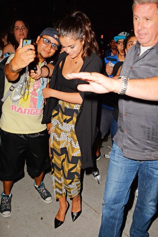 Selena Gomez à New-York le 2 septembre 2014