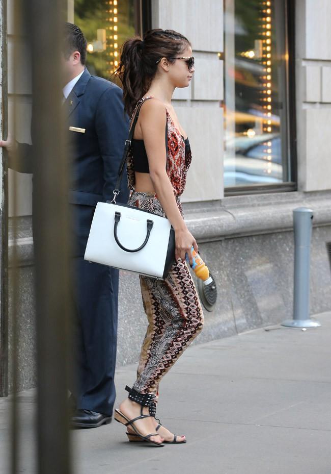 Selena Gomez à New-York le 20 août 2013