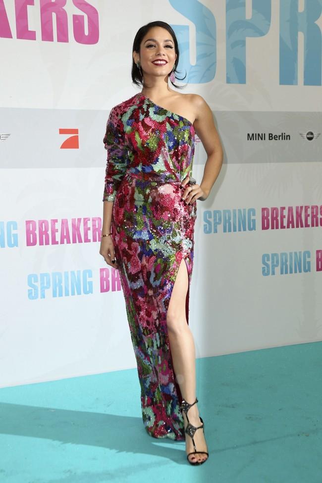 Vanessa Hudgens à l'avant-première de Spring Breakers à Berlin le 19 février 2013