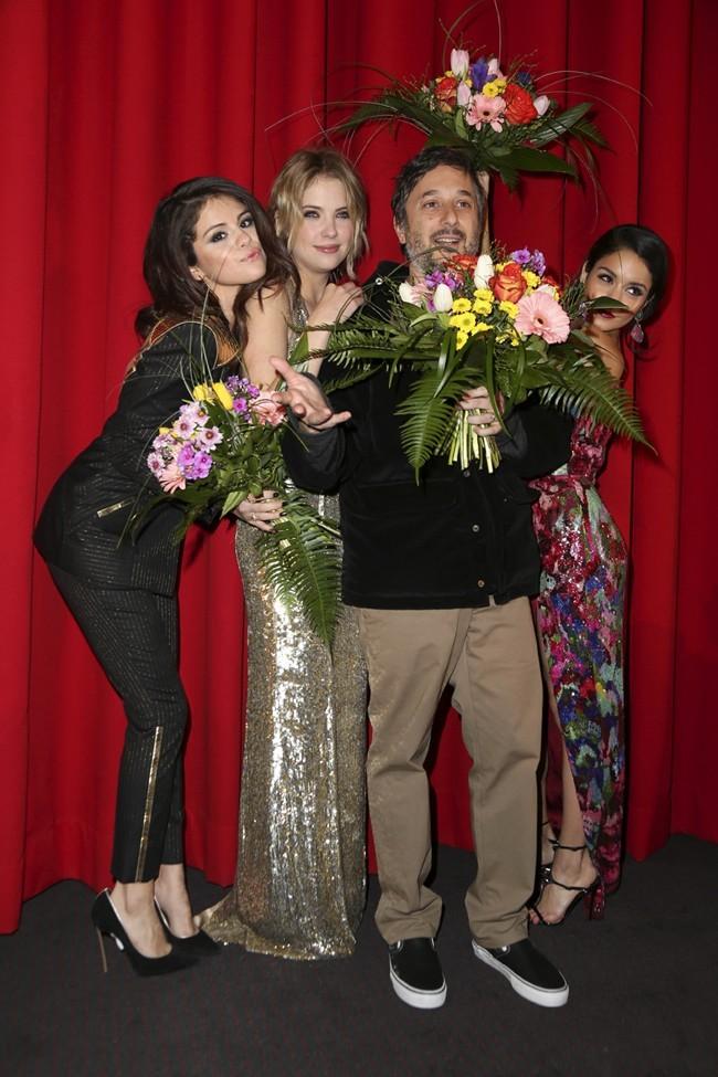 Vanessa Hudgens, Selena Gomez et Ashley Benson à l'avant-première de Spring Breakers à Berlin le 19 février 2013