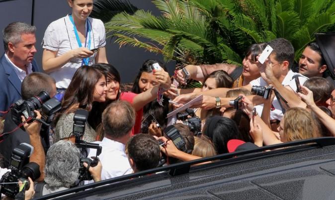 Selena Gomez à Cannes, le 21 juin 2012.