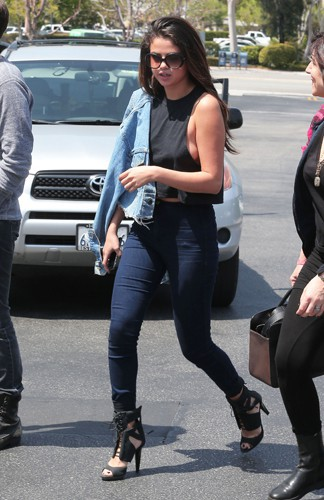 Selena Gomez à Los Angeles le 21 avril 2014