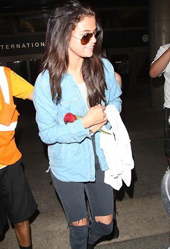 Selena Gomez à Los Angeles le 24 juillet 2014