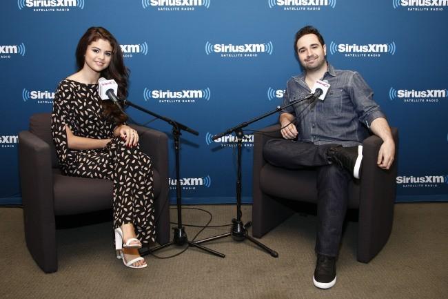 Selena Gomez en pleine interview