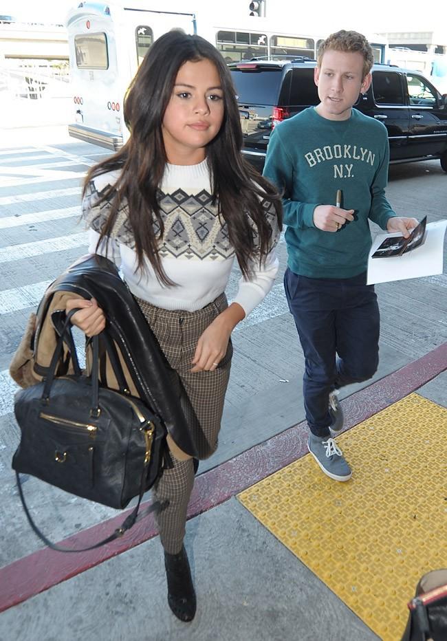 Selena Gomez à Los Angeles le 9 mars 2015