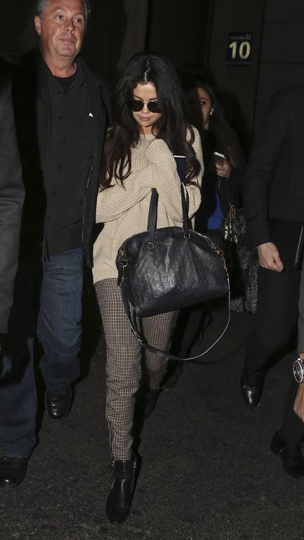 Selena Gomez à Paris le 10 mars 2015