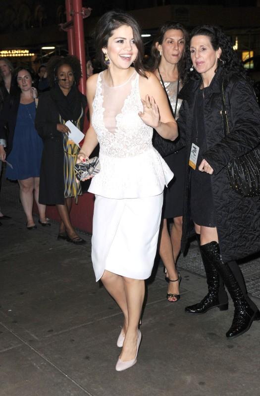 Selena Gomez le 12 novembre 2012 à New York