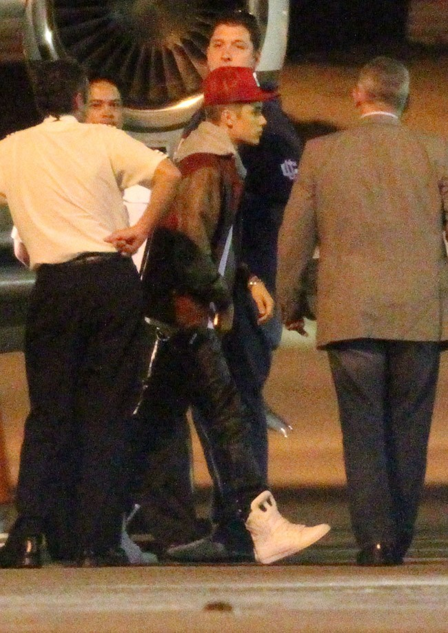 Justin Bieber le 15 juillet 2012 à Sydney