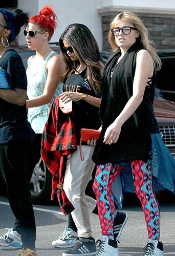 Selena Gomez à Los Angeles le 3 mars 2014