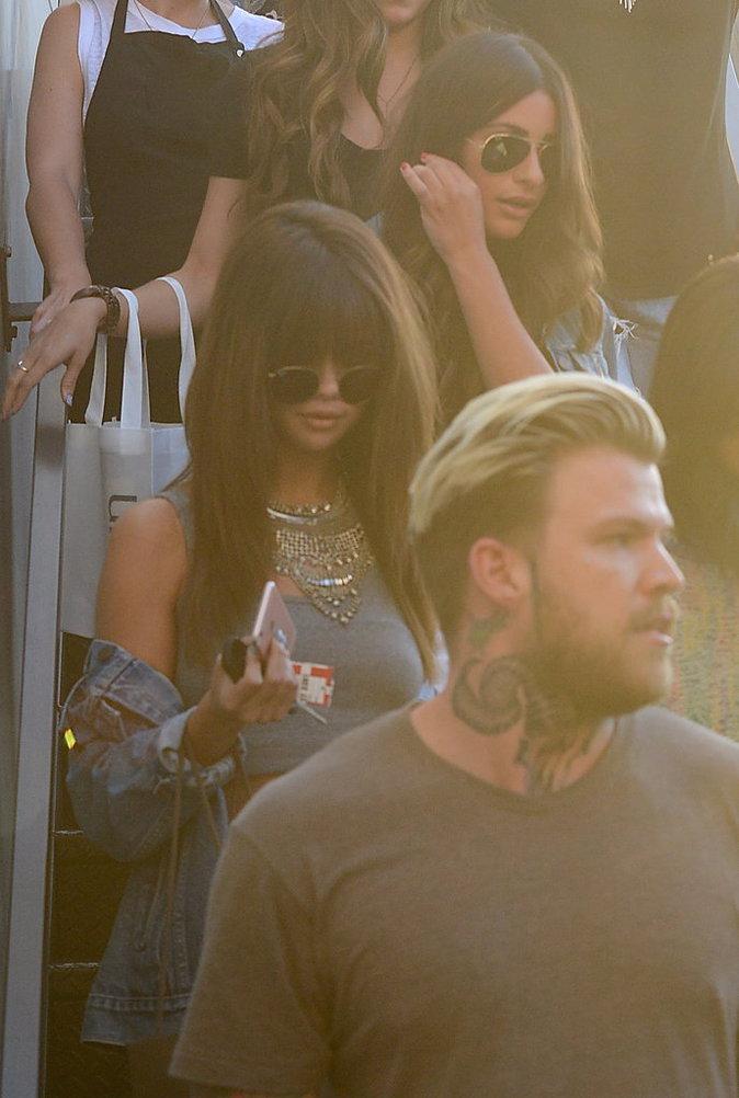 Selena Gomez et Lea Michele ont passé une journée entre filles dans un salon de beauté