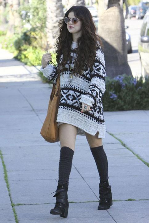 Selena Gomez à Santa Monica le 27 janvier 2013