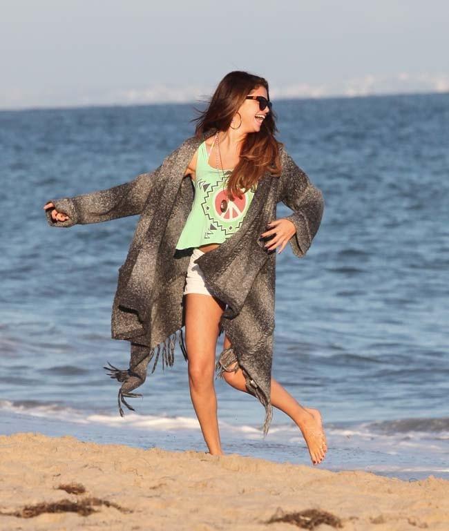 Selena Gomez entre amis le 2 juillet 2012 à Malibu