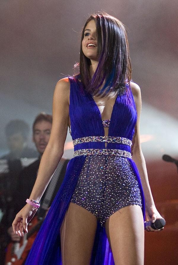 Selena Gomez le 26 janvier dernier à Mexico