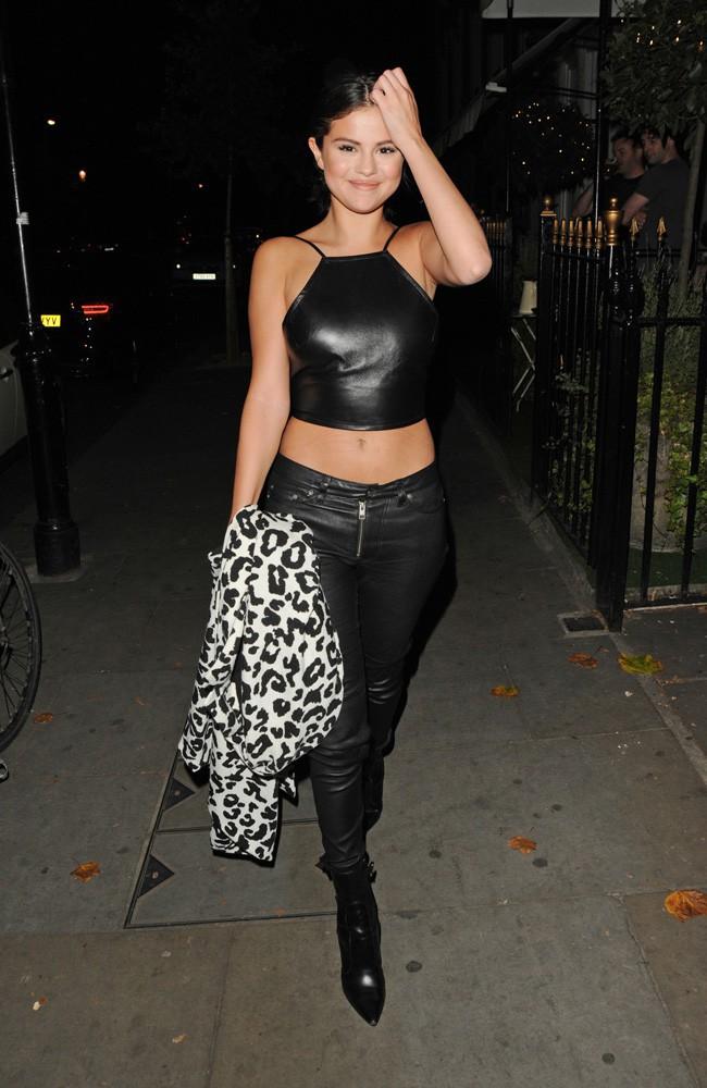 Selena Gomez à Londres le 23 juillet 2015
