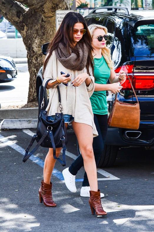 Selena Gomez à Los Angeles le 22 février 2014