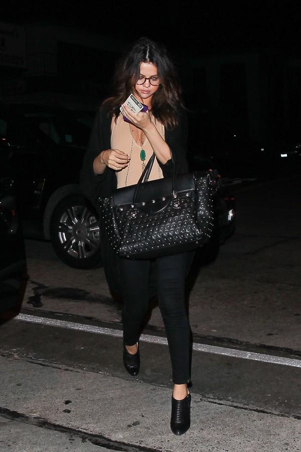 Selena Gomez à Los Angeles le 23 janvier 2014