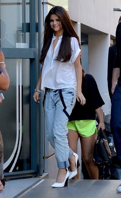Selena Gomez à Paris, le 5 septembre 2013.