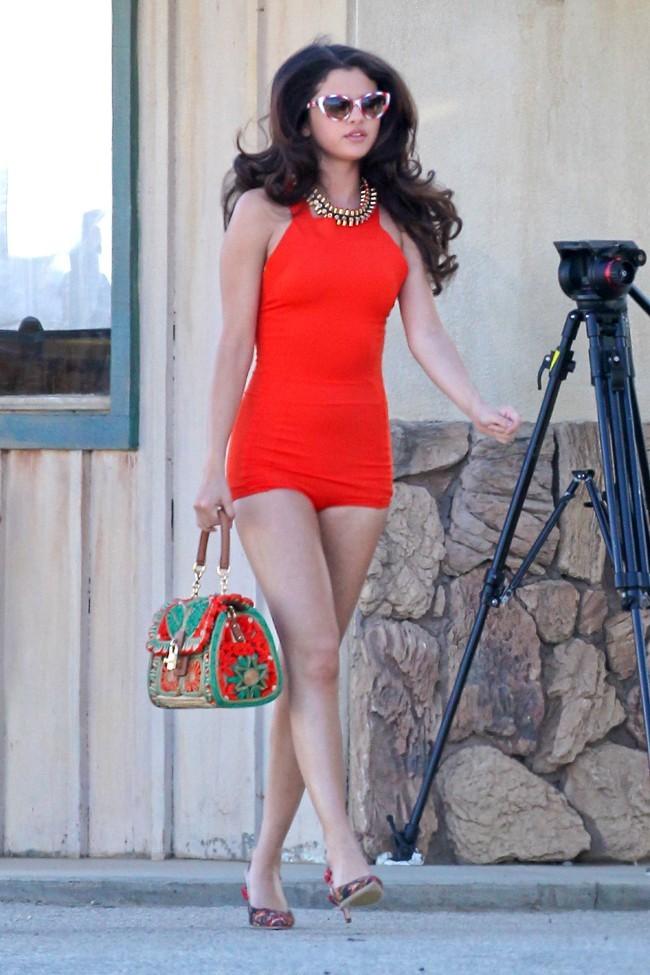 Selena Gomez le 4 mars 2013 à Palmdale, en Californie