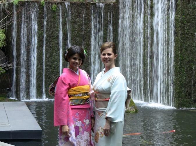 Le kimono lui va bien !
