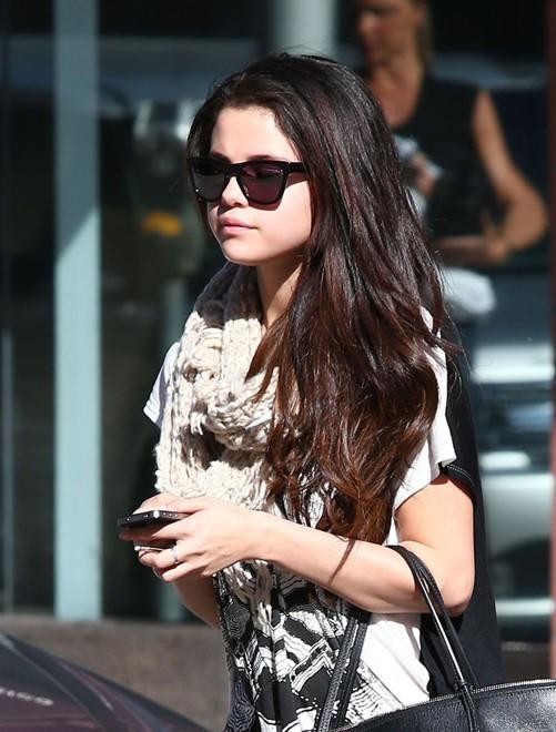 Selena Gomez à Beverly Hills le 22 janvier 2013