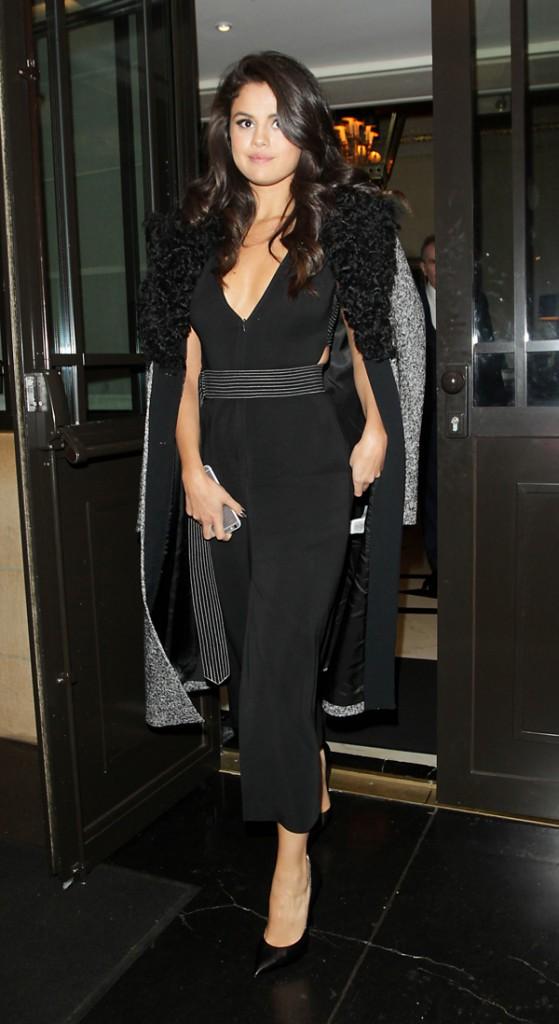 Selena Gomez à Londres le 23 septembre 2015