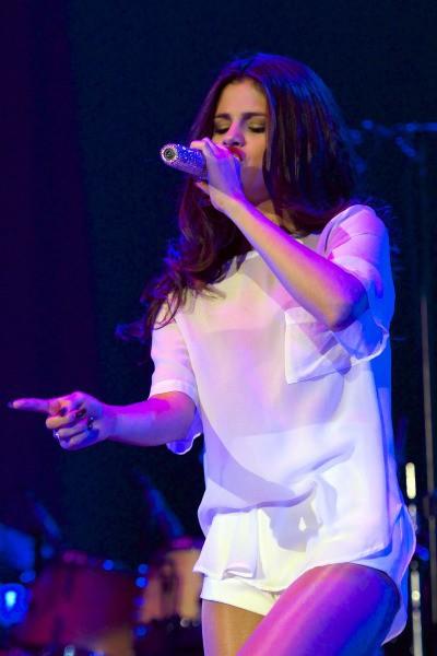 Selena Gomez a fait le show à Madrid, le 12 septembre 2013
