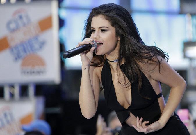 Selena Gomez à New York le 12 octobre 2015