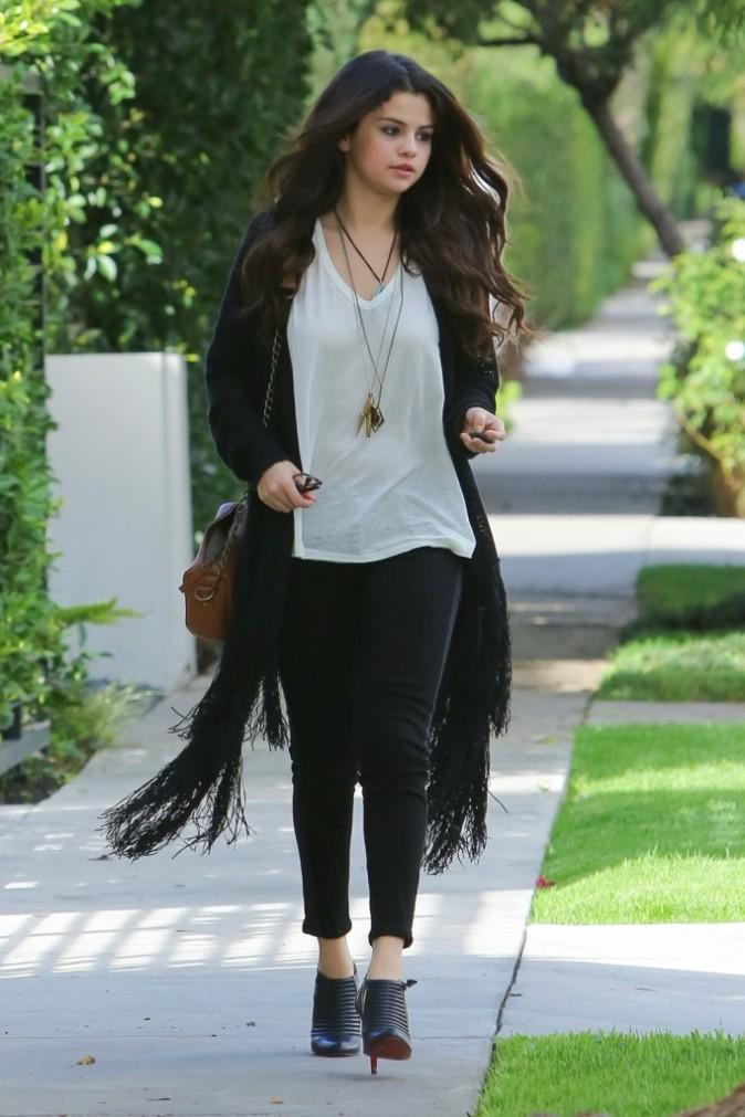 Selena Gomez à West Hollywood, le 12 décembre 2012.