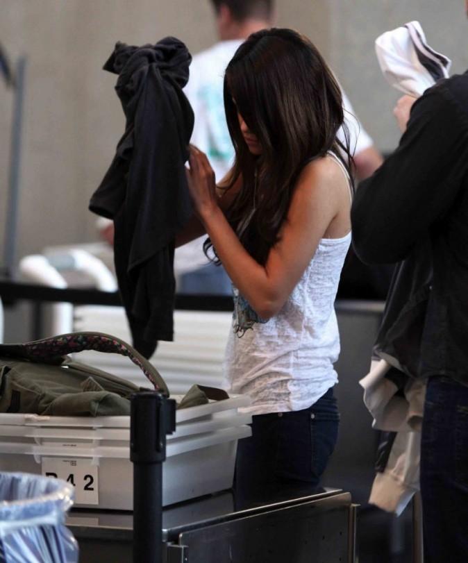 Selena Gomez à l'aéroport de Los Angeles