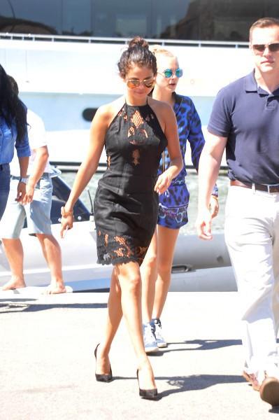 Selena Gomez à Saint Tropez, le 23 juillet 2014
