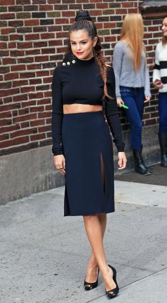 Photos : Selena Gomez : une divine vamp qui a hypnotisé New York !