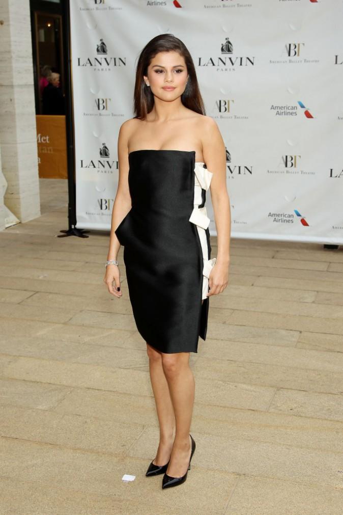 "Selena Gomez lors de la soirée ""American Ballet Theatre Opening Night Spring Gala"" à New York, le 12 mai 2014."