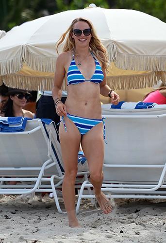 Caroline Wozniacki à Miami le 31 mai 2014