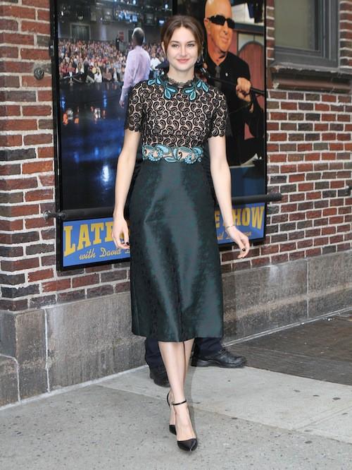 Photos : Shailene Woodley : effets de style pour assurer la promo de Divergente 2 !