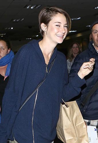 Shailene Woodley à Los Angeles le 6 mars 2014