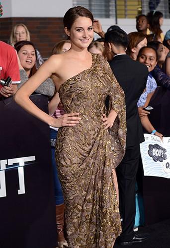 Shailene Woodley à Los Angeles le 18 mars 2014