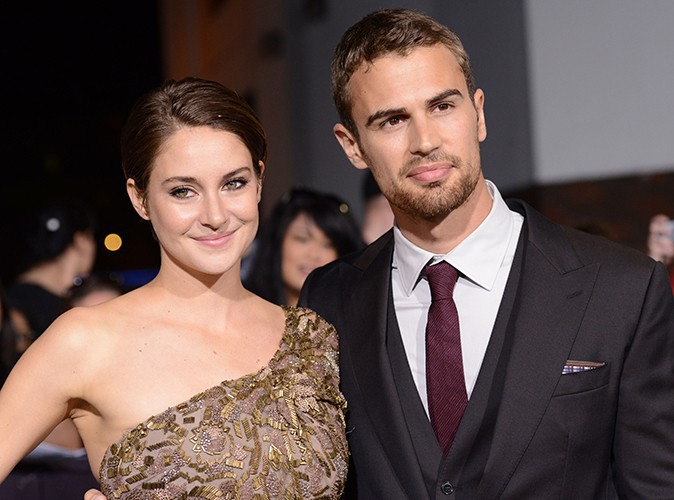 Shailene Woodley et Theo James à Los Angeles le 18 mars 2014