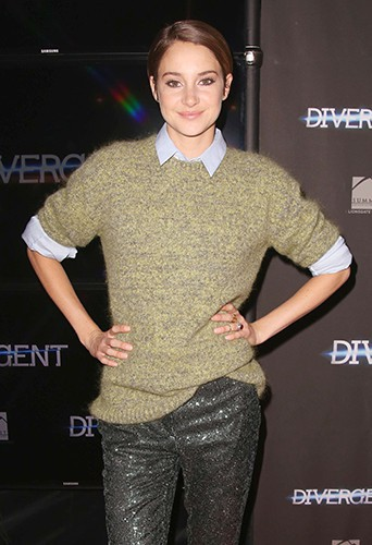 Shailene Woodley à Toronto le 5 mars 2014