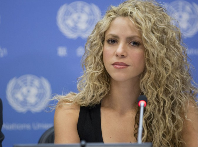 Shakira � l'ONU : la star colombienne reste mobilis�e pour les enfants du monde entier !