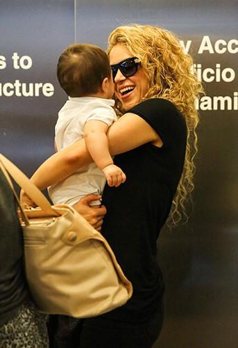 Shakira à Los Angeles le 15 août 2013