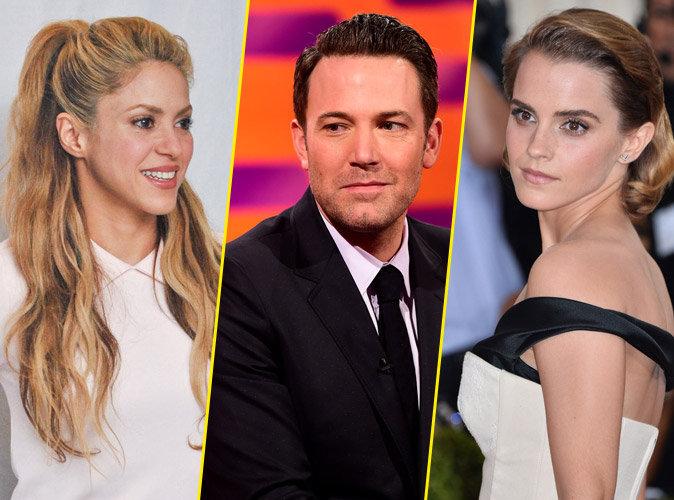 Shakira, Ben Affleck, Emma Watson... : Ces stars qui sont surdou�es !
