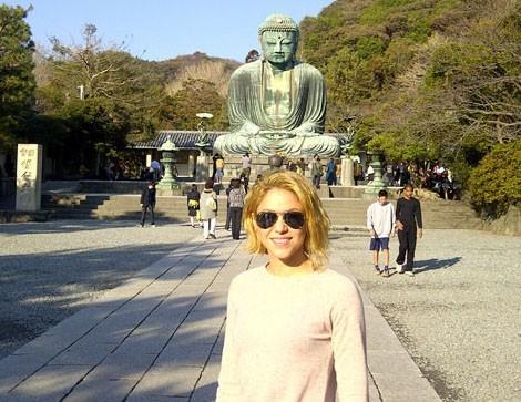 Shakira et sa nouvelle coupe au Japon !