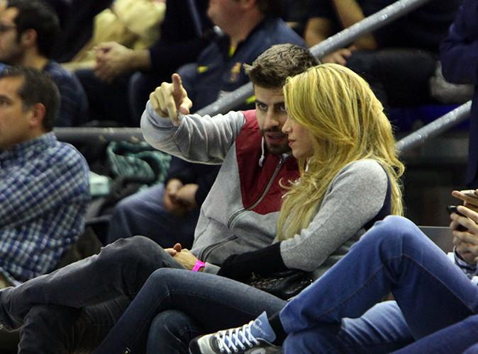 Gerard Pique et Shakira à Barcelone le 30 novembre 2013