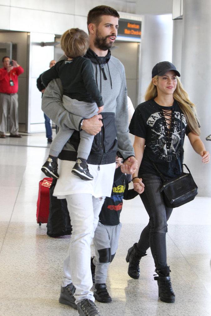 Photos : Shakira et Gerard Piqué : une famille formidable !