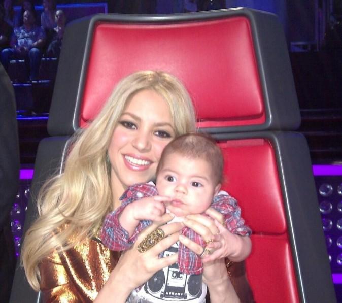 La belle Shakira et son bébé Milan