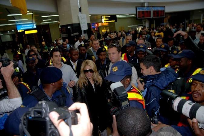 Shakira en Afrique du Sud