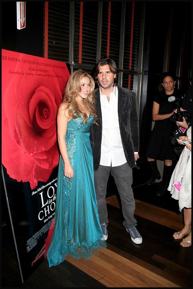 Shakira et son ex petit-ami Antonio de la Rua