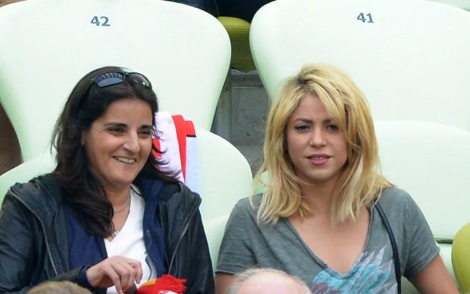 Elle était là avant le match contre l'Italie !