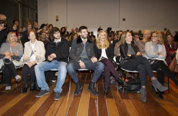 Shakira et Gerard Piqué au Salon du Livre à Barcelone, le 17 novembre 2011.